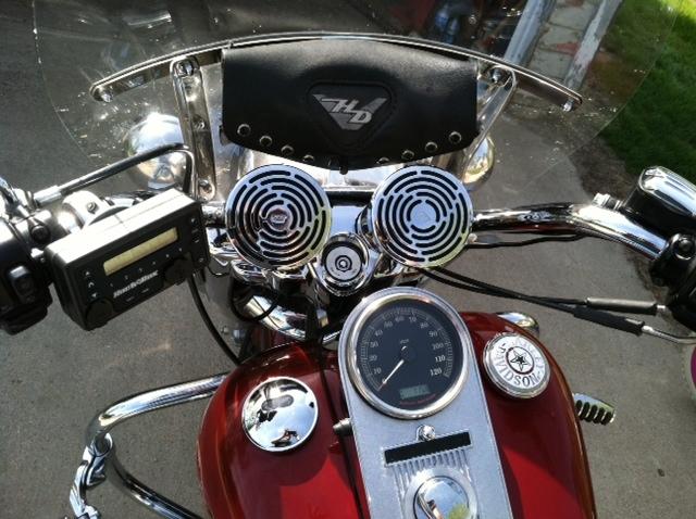 Road King Radio/Speaker Install Pic - Harley Davidson Forums